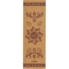 CAMPZ Cork Yoga Mat M Elephant brown